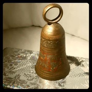 Super Vintage Indian - Brass hand carved bell